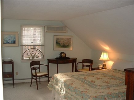 Barnstable Village Cape Cod vacation rental - Upstairs bedroom with king bed and skylight