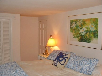 Barnstable Village Cape Cod vacation rental - First floor master bedroom with king bed