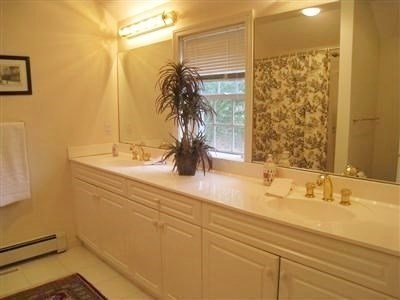 Barnstable Village Cape Cod vacation rental - Master bath off of master bedroom