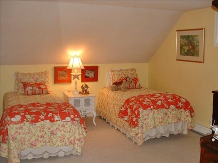 Barnstable Village Cape Cod vacation rental - Upstairs bedroom with two twin beds