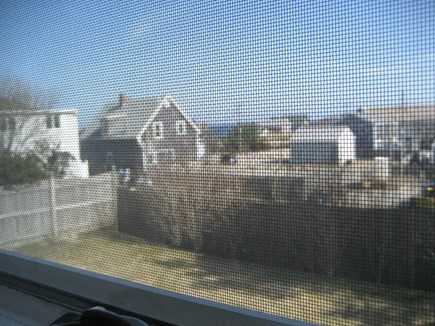 Plymouth MA vacation rental - Backyard and ocean view.