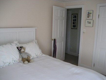 Bourne, Plymouth Cape Cod vacation rental - Queen bedroom. Large closet.Cool Breezes.