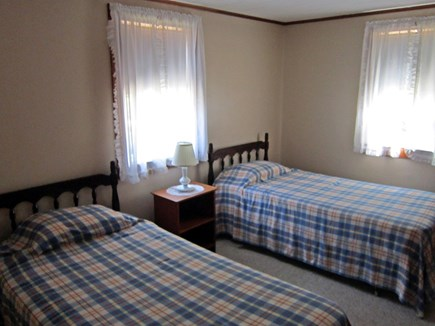 West Chatham Cape Cod vacation rental - 1st bedroom with two twin beds