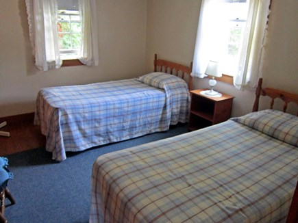 West Chatham Cape Cod vacation rental - 2nd bedroom with two twin beds