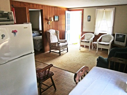 West Chatham Cape Cod vacation rental - Comfortable, open kitchen/dining/living area and entrance
