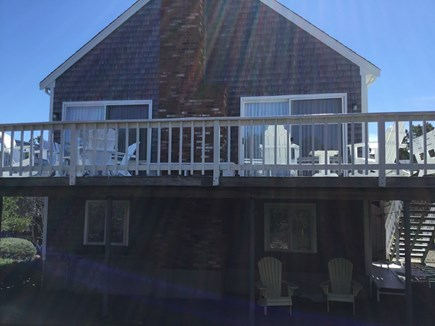 Eastham Cape Cod vacation rental - Deck for sunning and BBQs