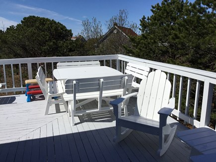 Eastham Cape Cod vacation rental - Family oudoor dining