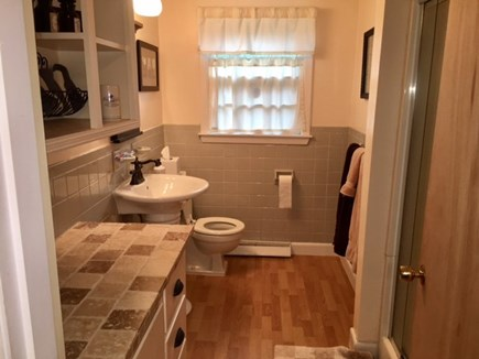 Harwich Cape Cod vacation rental - Main bath with shower