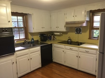 Harwich Cape Cod vacation rental - Spacious kitchen with dishwasher, microwave, Keurig, lobster pots