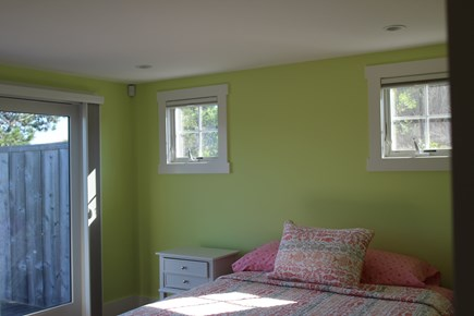 Truro Cape Cod vacation rental - Main level bedroom opens to deck
