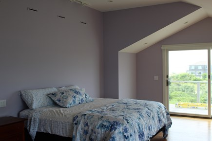 Truro Cape Cod vacation rental - Master Suite on Upper level with deck and large bath