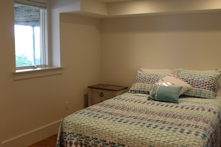 Truro Cape Cod vacation rental - Lower level bedrom with queen bed