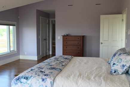 Truro Cape Cod vacation rental - Master Bedroom to large bath