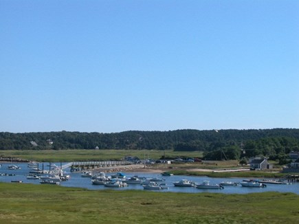 Truro Cape Cod vacation rental - Views from the Home to the Pamet Harbor