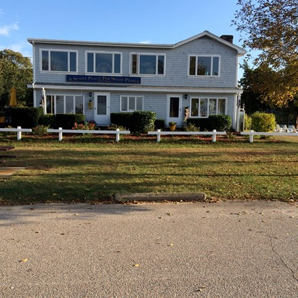 Bourne Cape Cod vacation rental - The Bait Shop is a LEFT side 1.5 BR on 1st floor of a tri-plex