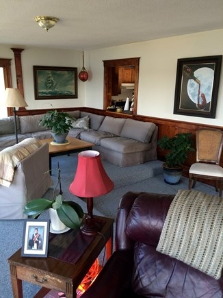Bourne Cape Cod vacation rental - More comfy seating in the living room