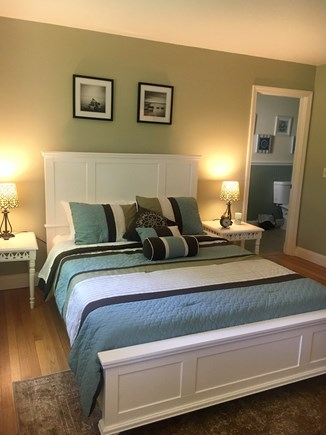 Eastham Cape Cod vacation rental - Master bedroom with a queen size bed and full bathroom
