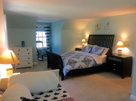 Eastham Cape Cod vacation rental - Oversized bedroom #2 with a queen size bed and a day bed