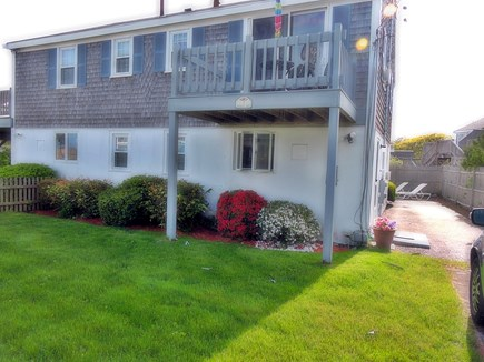 South Yarmouth Cape Cod vacation rental - Front/side view. Welcome to our home! Private patio in back