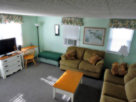 South Yarmouth Cape Cod vacation rental - Living Room with AC, flat screen tv, cable and wireless internet