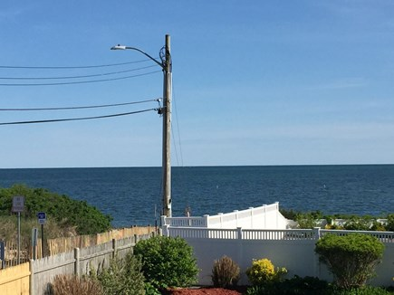 South Yarmouth Cape Cod vacation rental - View from the Master bedroom deck