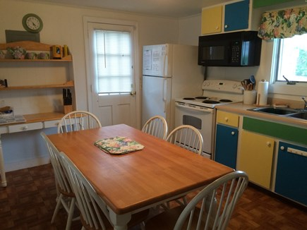 South Yarmouth Cape Cod vacation rental - Comfortable and cozy eat-in Kitchen. Freshly painted
