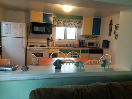 South Yarmouth Cape Cod vacation rental - Bright and  fully equipped kitchen  with large table