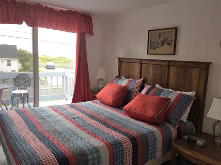 South Yarmouth Cape Cod vacation rental - Master Bedroom with deck and water views