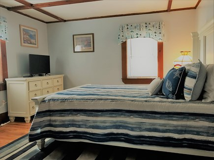 Hyannis Cape Cod vacation rental - Master Bedroom w/ Private Half Bath