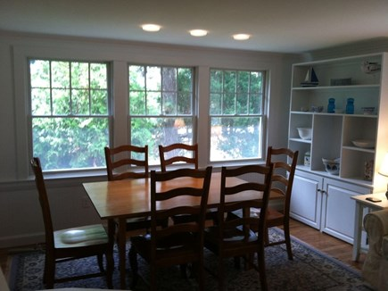 Chatham, Ridgevale Beach Cape Cod vacation rental - Dining room with loads of natural light