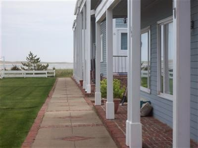 Chatham Cape Cod vacation rental - Front of Unit looking towards ocean