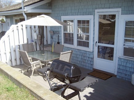 Chatham Cape Cod vacation rental - Back patio with gas grill