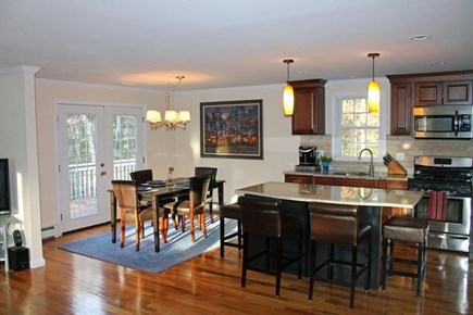 barnstable centerville cape cod vacation rental dining area with