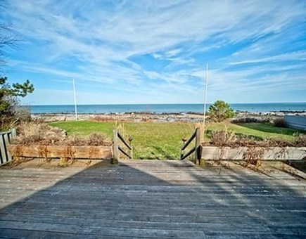 Plymouth, Ellisville MA vacation rental - View from the front deck