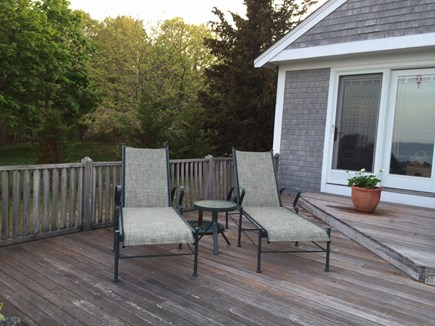 Plymouth, Ellisville MA vacation rental - Front deck