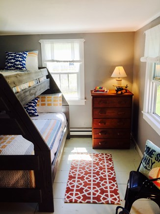 South Yarmouth Cape Cod vacation rental - A full size mattress on the bottom that sleeps 2 & a twin on top