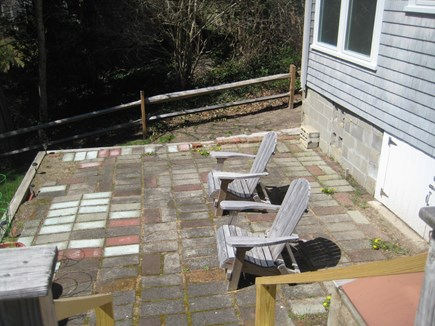 Dennis Cape Cod vacation rental - Lower patio