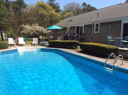 Dennis Cape Cod vacation rental - Inviting pool for relaxing and swimming