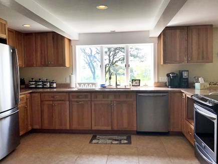 Chatham Cape Cod vacation rental - Full Kitchen with all of the amenities plus a beautiful view!