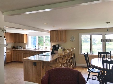 Chatham Cape Cod vacation rental - Open floor plan with additional seating at the kitchen island.