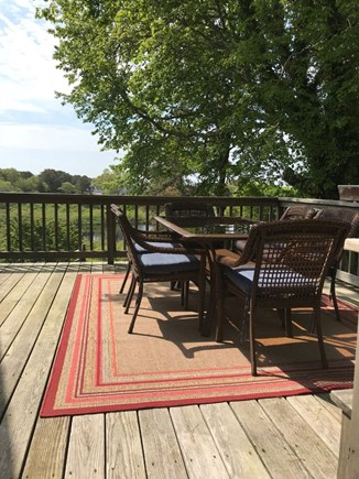 Chatham Cape Cod vacation rental - Deck off of dining area with beautiful views.