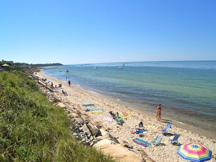 Brewster Cape Cod vacation rental - Private beach on Cape Cod Bay is a two-minute walk from your door