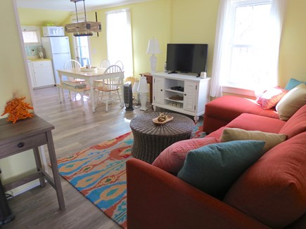 Brewster Cape Cod vacation rental - From living room to dining area.