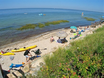 Brewster Cape Cod vacation rental - You will love living so close to the beach.