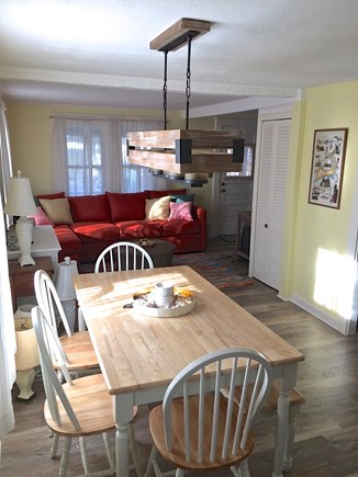 Brewster Cape Cod vacation rental - New furniture helps lighten and brighten the interior.