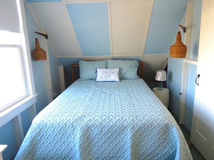 Brewster Cape Cod vacation rental - Queen bedroom, upper level.