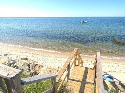 Brewster Cape Cod vacation rental - Here's your beach.  It's a joy living this close to the water!