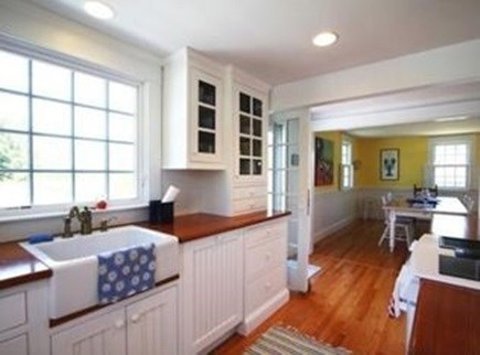 North Chatham Cape Cod vacation rental - Kitchen to Dining area