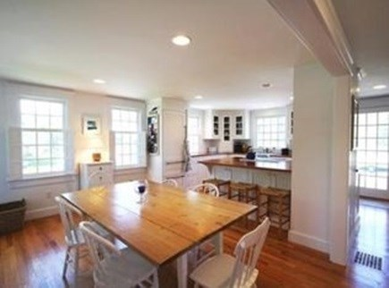 North Chatham Cape Cod vacation rental - Light and Bright Dining area