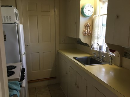 Dennis Port Cape Cod vacation rental - Kitchen Sink / Fridge